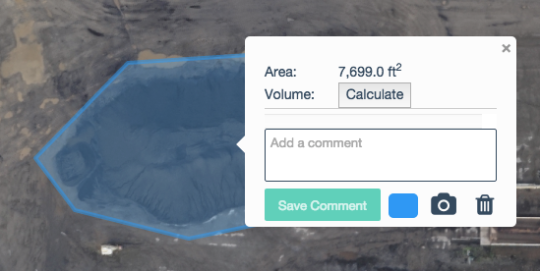 3d mapping volume calculation