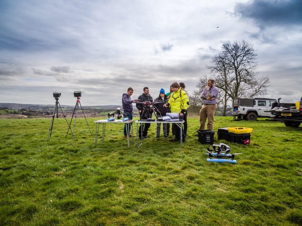 aerial photography in Devon, drone photography devon
