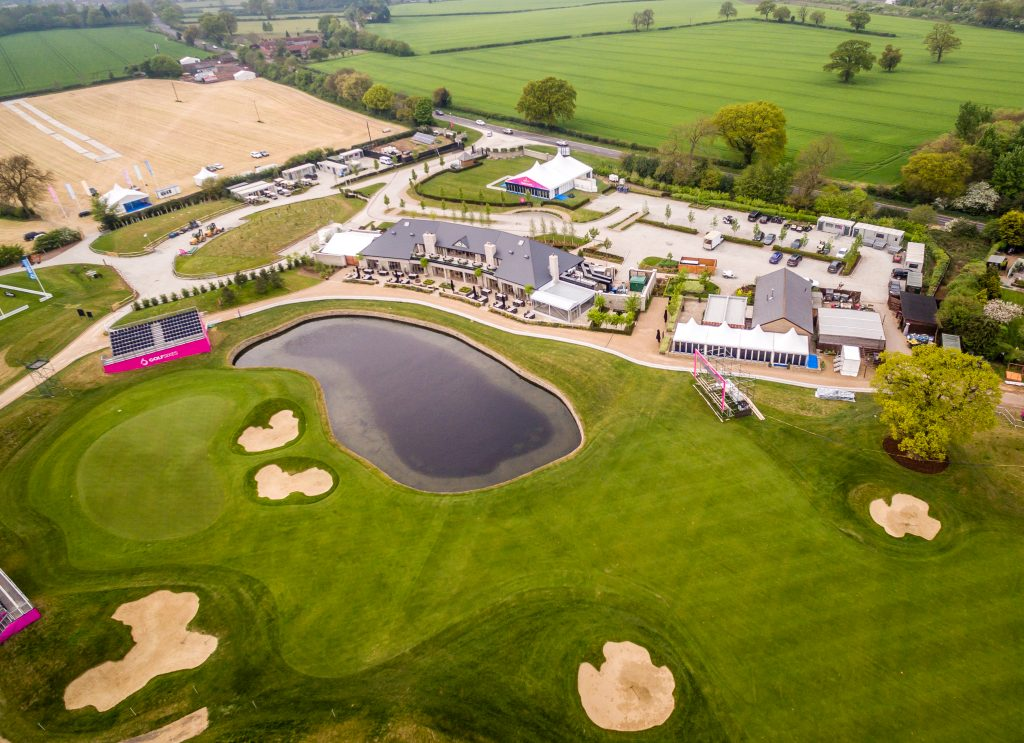 Golf Course Aerial Photography, Golf Sixes, European Tour, Centurion Club, aerial photography, aerial photography uk, drone aerial filming, drones, drone photography services,