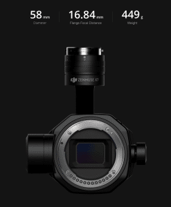 DJI Announce the Zenmuse X7 Camera