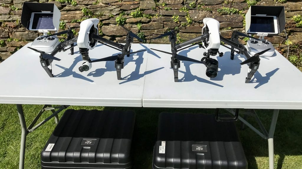 drones, at Gatwick, UAV equipment, drone photography, drone photography services