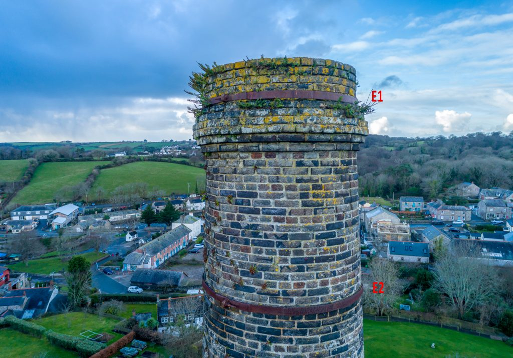 aerial roof and chimney Surveys